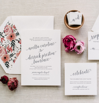 Customization Options | Liners, Inks, Ribbon, and Monograms.