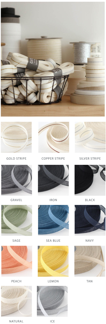 Cotton Ribbon Options