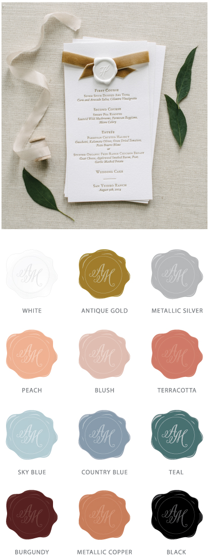 Wax Seal Options